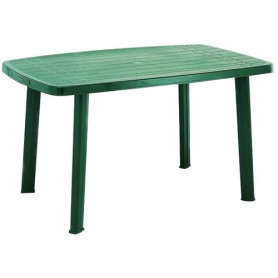 TABLE RECTANGULAIRE 140CM FARO VERT