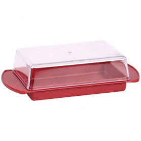 BEURRIER ROUGE RUBIS COUV.TRANSPARENT