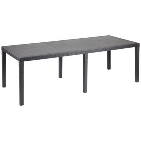 TABLE QUEEN 220CM ANTHRACITE
