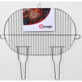 Grille ovale 50,5x33cm