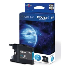 Brother LC-1280XLC Cartouche d'encre d'origine Cyan