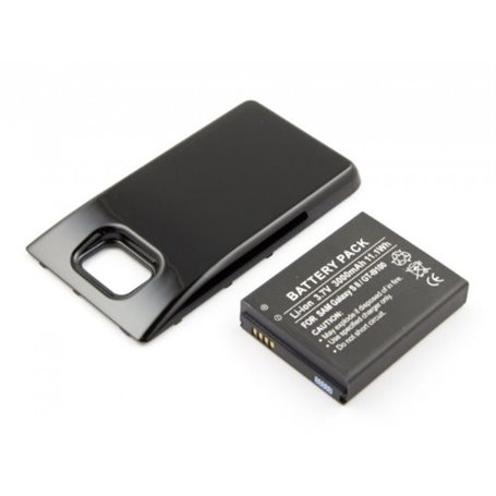 Batterie compatible pour Samsung Galaxy S 2, Galaxy S II, GT-I9100